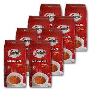 8 KG Segafredo Intermezzo Kaffeebohnen, Preis ist inklusive Kaffeesteuer