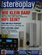 Stereoplay 4/03 McIntosh C 2200, Ayre AX 7 X, Nubert AW 1000, Ortofon Akzent