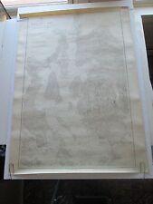"""Original 1919 Usc&Gs Nautical Chart #307, """"Blue Hill Bay & Western Mt Desert Id"""""""