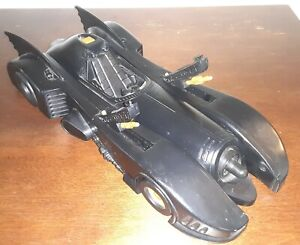 🦇 WORKING Batman Returns BATMISSILE 2 Missile BATMOBILE Vehicle Vintage 1992 🦇