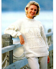 Unbranded Women's Chunky Crocheting & Knitting Patterns