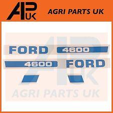Ford New Holland 4600 Tractor Hood Bonnet Decal Sticker Set Kit Emblem Transfer