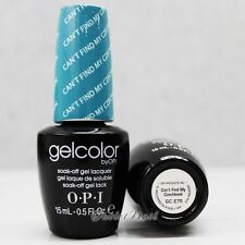 OPI GelColor Euro Central GC E75 CAN'T FIND MY CZECHBOOK 15mL UV Gel Aqua Color