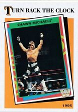 #13 SHAWN MICHAELS 2016 Topps WWE Heritage TURN BACK THE CLOCK
