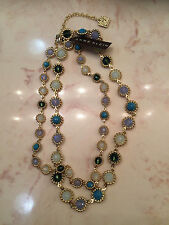 Brand NEW ANNE KLEIN Beaded Gem Collar Necklace - Free Shipping
