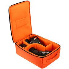 Profession DSLR SLR Camera Lens Insert Backpack Partition Padded Tote Bags Cases