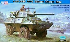 Hobbyboss 1:35 LAV-150 APC 90mm Mecar Gun Vehicle Model Kit