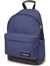 Eastpak Schulrucksack WYOMING Rucksack mit Lederboden Vital Purple Lila NEU