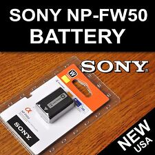 New NP-FW50 Battery for Sony Nex-C3, Nex-F3, Nex-6, Nex-7, A33, A35, A37, A55
