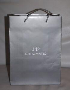 CHANEL J12 CHROMATIC SAC SHOPPING CARTON  EMBALLAGE CADEAU