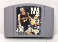 Nintendo 64 N64 NBA Jam 99 Video Game Cartridge *Authentic/Cleaned/Tested*