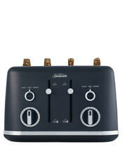 NEW Sunbeam Gallerie Collection 4 Slice Toaster : Midnight Black TA2640K