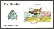 GAMBIA. 1995. COVER. BIRDS – MOORHEN.