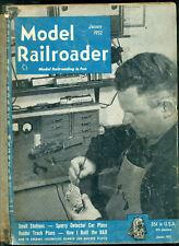 The Model Railroader -- Vol. 19, 1952 -- 12 issues complete in black binder