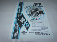 SIMPLE MINDS - APK!!!!!!!!!!!!!!!!!!FRENCH PRESS ADVERT