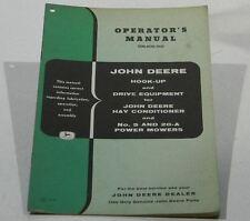 John Deere Hook-Up & Drive Equipment #5 & 20-A Power Mowers
