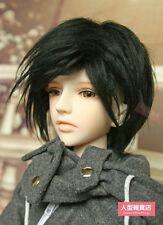 BJD doll wig 8-9 inch 20-22cm 1/3 BJD DOLL SD Fur Wig Dollfie Black M04