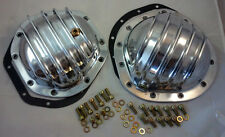 Chevy / GMC 4wd  Polished Finned Aluminum Front  & Rear Differential Kit  69-87