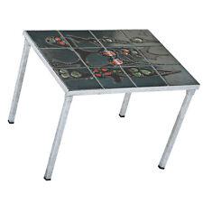 Small Vintage Enamel Top  Side Table (MR12525)