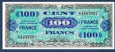 FRANCE - 100 FRANCS VERSO FRANCE VF n° 25. 8 de 1944. en SPL  64497607 8