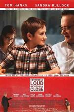 Extremely Loud and Incredibly Close - original DS movie poster - 27x40 Mint B