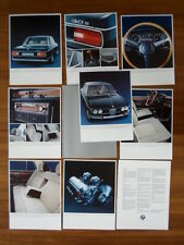 Bmw 3.0 S Saloon 1971 Prestige mercado del Reino Unido folleto Cartera Prospekt - 3.0 S