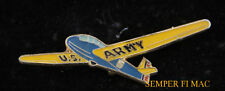 US ARMY GLIDER LAPEL HAT PIN UP WW 2 AIRBORNE PILOT PLANE SOLO GIFT WOW