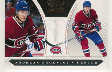 2010-11 LUXURY SUITE ANDREAS ENGQVIST MONTREAL CANADIANS RC 512/899 #244