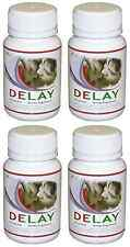 DELAY 4x Enhance Pleasure Men Increase Stamina Prolong Intimacy Endurance