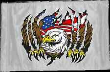 ATV, UTV, Motorcycle, 4x4 Safety Whip Flag, Eagle Tear