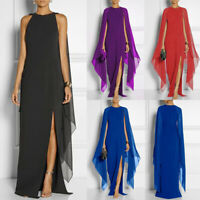 Women Boho Sundress Bodycon Sleeveless Cocktail Party Evening Long Maxi Dress