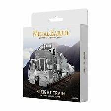 Fascinations Metal Earth Freight Train Gift Box Set 3D Laser Cut Steel Model Kit