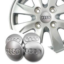 4 X 60MM AUDI Nabendeckel Radnaben Nabenkappen Radkappe Felgendeckel Embleme