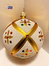 Christopher Radko Ornament Mini Stained Glass Memories 4'Tall