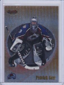 Patrick Roy 1998 Bowman's Best Hockey Card 28 Grade MT