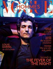 VOGUE Hommes International Magazine 20,Louis Garrel,Isabelle Adjani ENGLISH