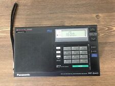 Panasonic FM/LW/MW/SW/,PLL Synthesized Receiver Model No.RF-B40,Works.