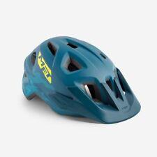 Mountain Bike Youth Cycle Helmet MET Eldar Petrol Blue Matt UN 52 57 cm