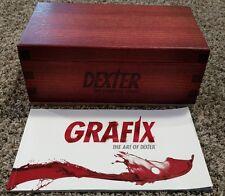 Dexter: The Complete Series DVD 32-Disc Set Special Collector's Blood Slide Set!
