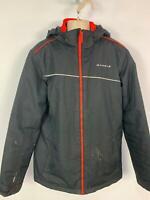 BOYS DARE 2B BLACK WINTER PADDED CASUAL RAIN HOOD JACKET COAT KIDS AGE 13 YEARS