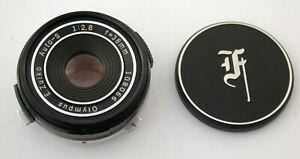 OLYMPUS Pancake Zuiko Auto-S 2,8/38 38 38mm top PEN FT FV