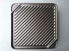 Chef's Design Single Burner Reversible Grill/Griddle With Non-Stick 3550 Grill