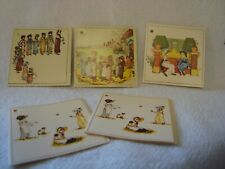 5 Gift Tags Kate Greenaway Illustrations