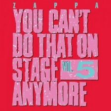 FRANK ZAPPA - YOU CAN'T DO THAT ON STAGE ANYMORE,VOL.5  (2 CD)  ROCK & POP  NEU