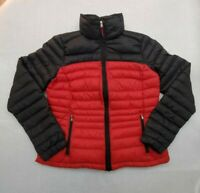Vintage RALPH LAUREN L-RL  Active Women's size M  Down Puffer jacket - Red Black