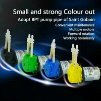 12V Mini DC Liquid Water Motor pump Fish Tank Dosing Best Pump Peristaltic I7K8