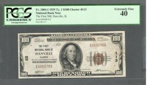 1929 US $100 Dollar Note / Bill - Fr#1804-1 Ty. 1 - Low Serial # - PCGS 40  S514