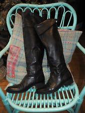 ***Vic Matie*** tolles Leder Overknee Leder Stiefel Gr. 39 schwarz