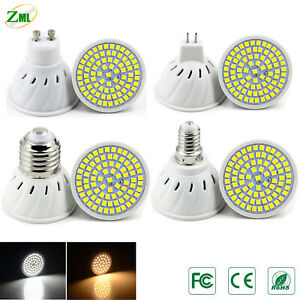 E14 GU10 MR16 E27 LED Bulb 5W 8W 10W Downlight Lamp 220V 2835SMD COB Spotlight