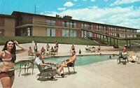 Postcard Palmer House Motel Colorado Springs Colorado